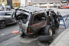 Bilførere senker farten etter å ha sett en bilulykke - selv om faren for en ny ulykke er uendret